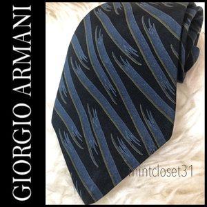 Giorgio Armani Italy Silk Tie